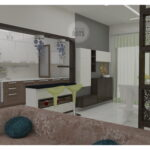 crockery unit and dining table design