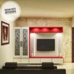 Living space tv unit design